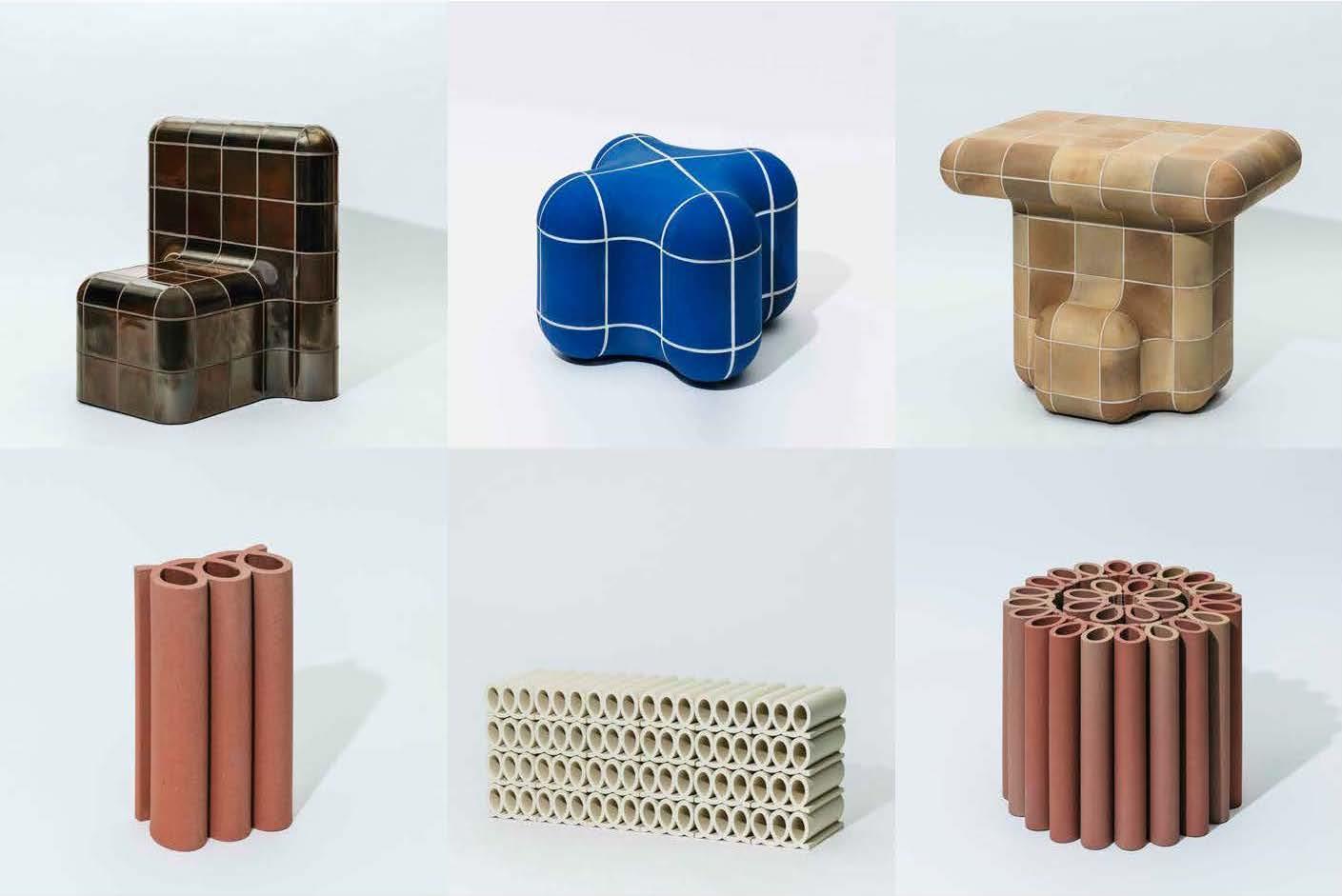 TAJIMI CUSTOM TILES TOKYO 2020 Installation by Max Lamb and Kwangho Lee
