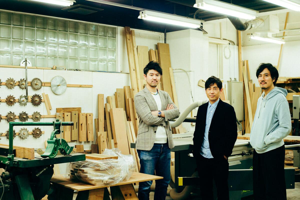 西村さん、上川さん、大川原さん