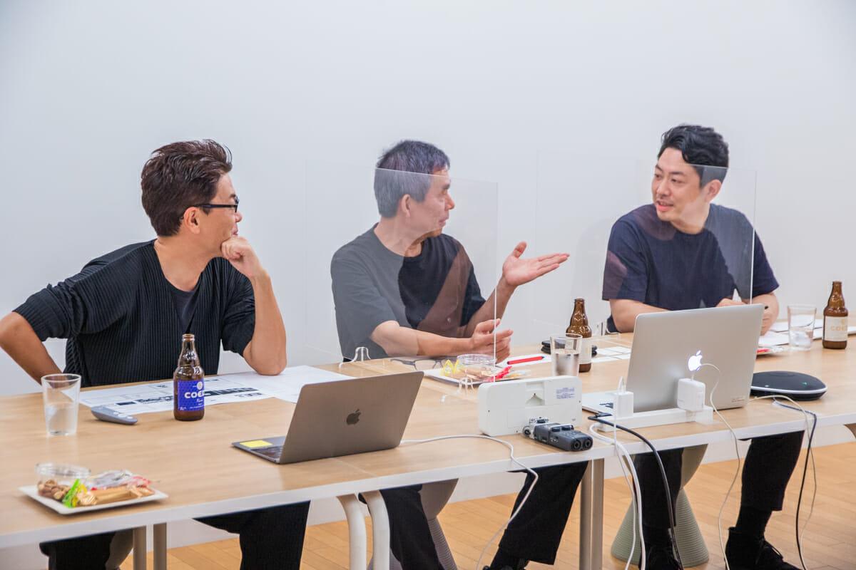 西澤さん、安次富さん、鈴木さん