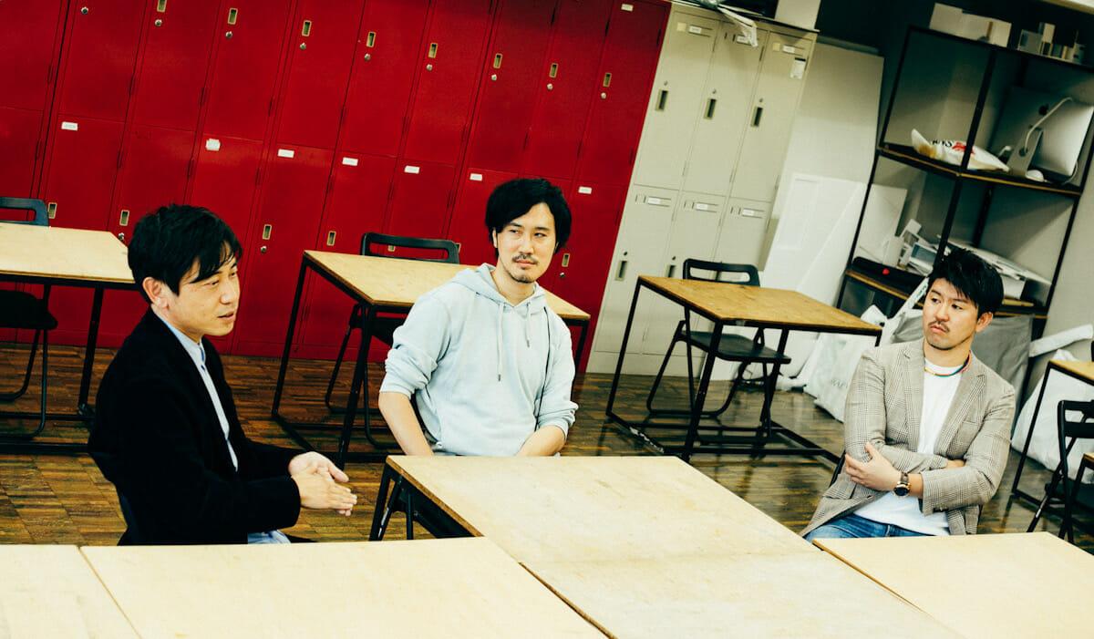 上川さん、大川原さん、西村さん