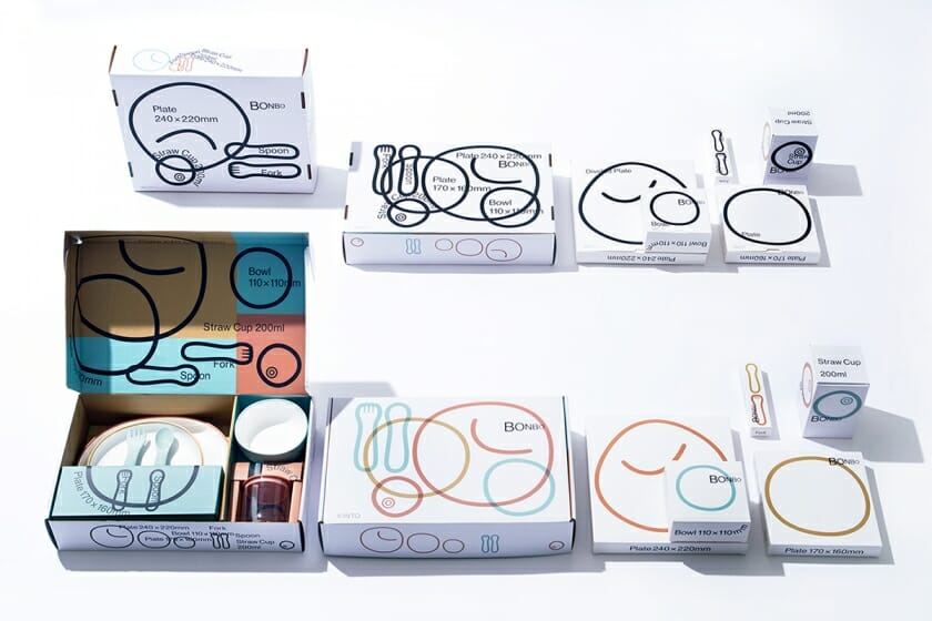 KINTO「BONBO」パッケージデザイン