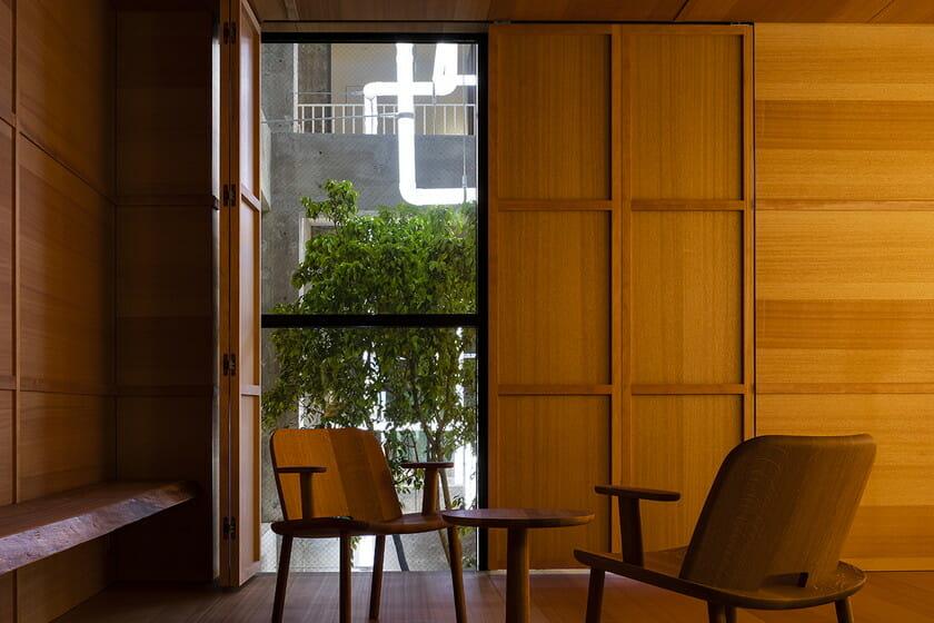 ジャスパー・モリソンによる客室(photo:Shinya Kigure)