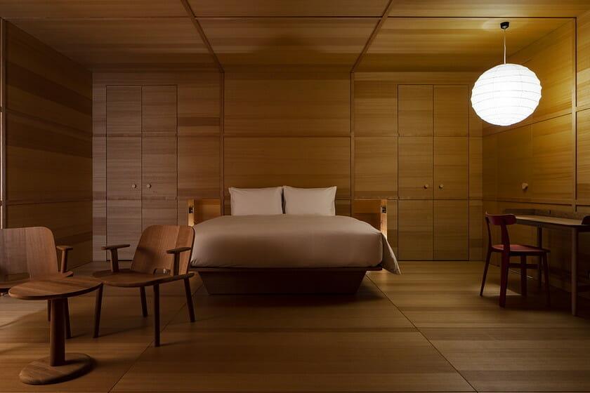 白井屋ホテル ジャスパー・モリソンによる客室