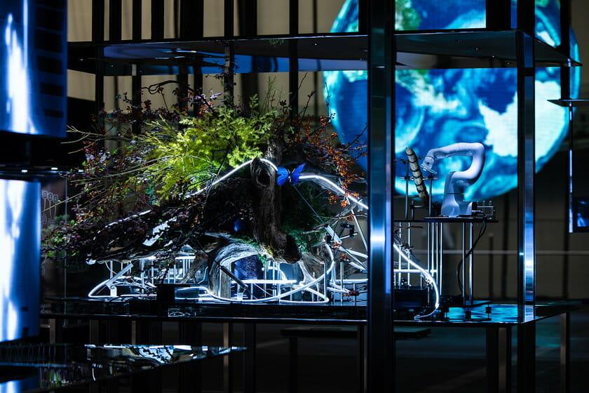日本科学未来館の新しい常設展示 「計算機と自然、計算機の自然」 (2)