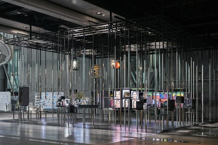日本科学未来館の新しい常設展示 「計算機と自然、計算機の自然」 (6)