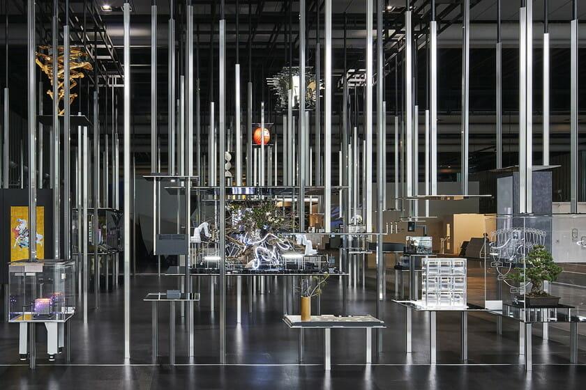 日本科学未来館の新しい常設展示 「計算機と自然、計算機の自然」 (7)