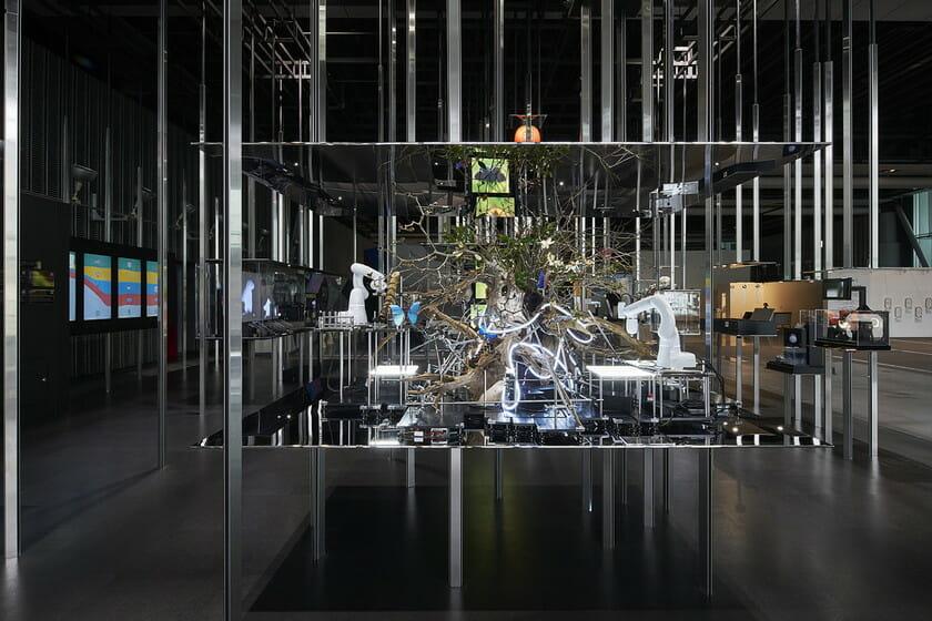 日本科学未来館の新しい常設展示 「計算機と自然、計算機の自然」 (8)