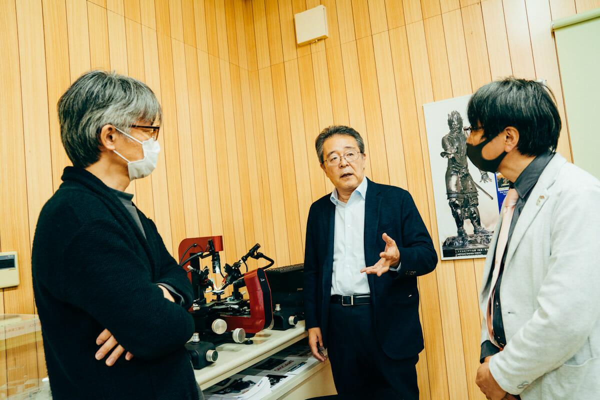 木下さん、斎藤社長、伊藤さん