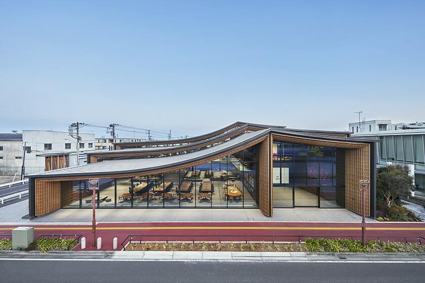 NAP建築設計事務所が設計した、株式会社ZOZOの新社屋が千葉市に完成