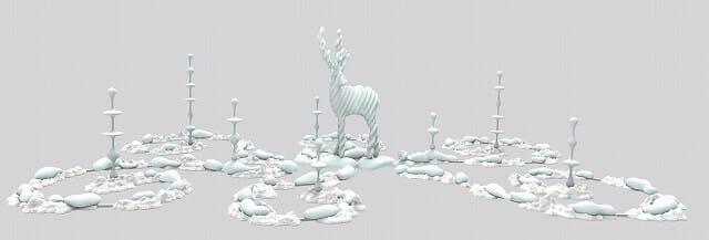Metamorphosis Garden(変容の庭) 名和晃平
