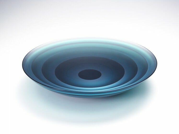 積層硝子皿「月華」