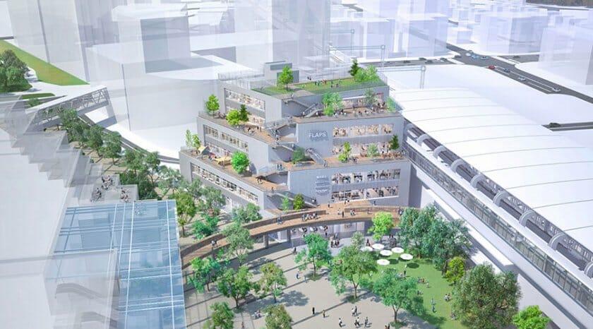 MOUNT FUJI ARCHITECTS STUDIOが設計、「流山おおたかの森S・C FLAPS」がオープン