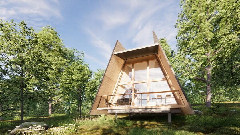 自然の中にもう一つの家を持つサブスクリプションサービス「SANU 2nd Home」が、先行申し込みを開始