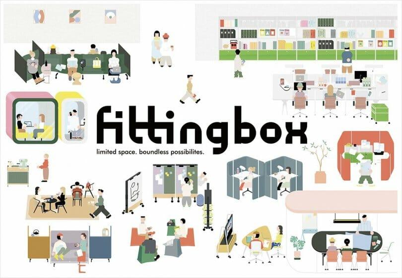 インターオフィスが多様な働き方に対応した家具のサブスクリプションサービス「Fittingbox」を開始