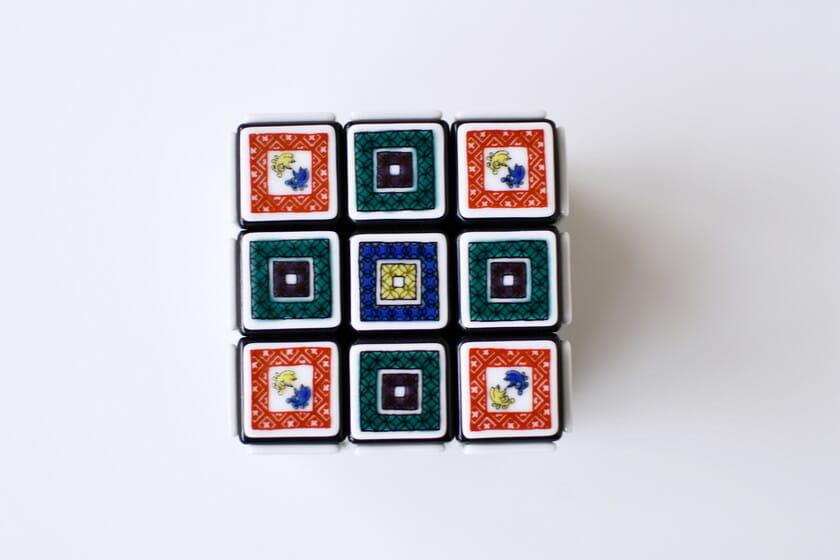 九谷焼ルービックキューブ (2)
