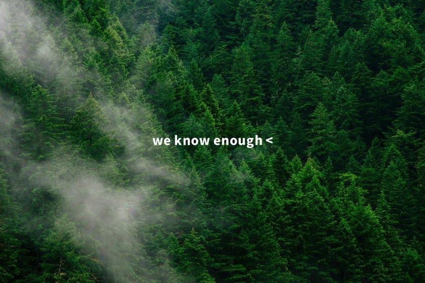 「自然を想う時間をつくる」がテーマの環境配慮型アウトドアブランド「we know enough<」が設立