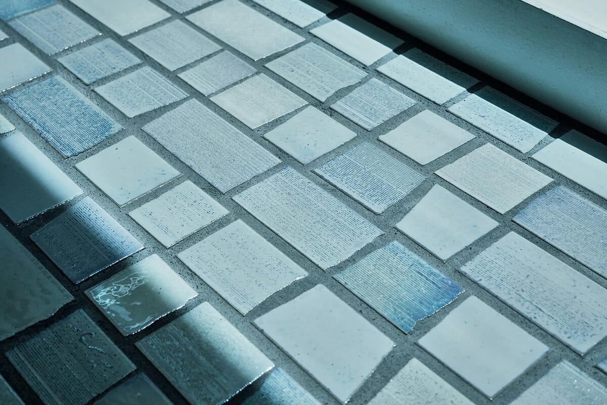 SKIN CARE LOUNGE BY ORBIS 1階/床材として使用されているタイル