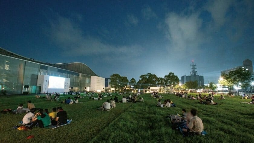 真夏の夜の星空上映会2021