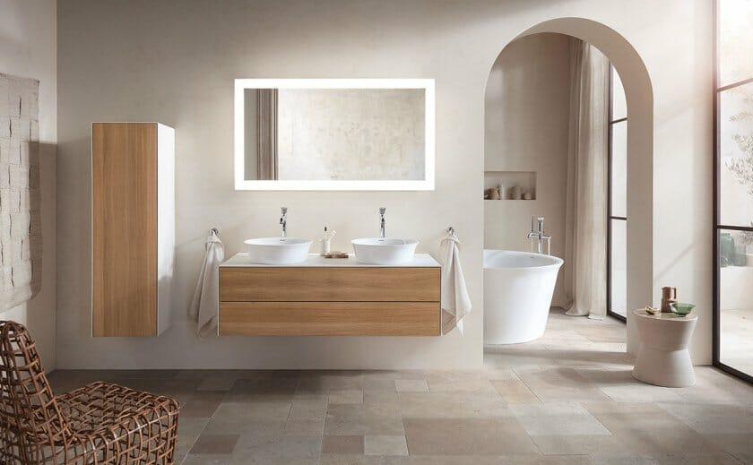 フィリップ・スタルクがデザインを手がけた、デュラビットのバスルームシリーズ「White Tulip」が発表
