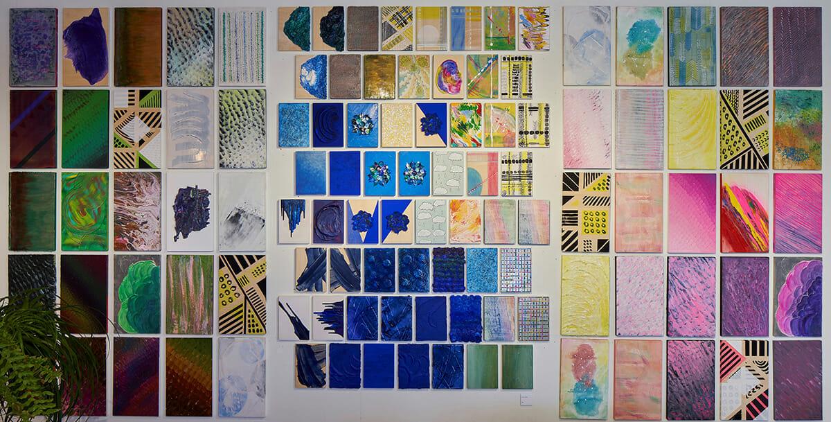 石川静個展「アートと建築の重なり展」