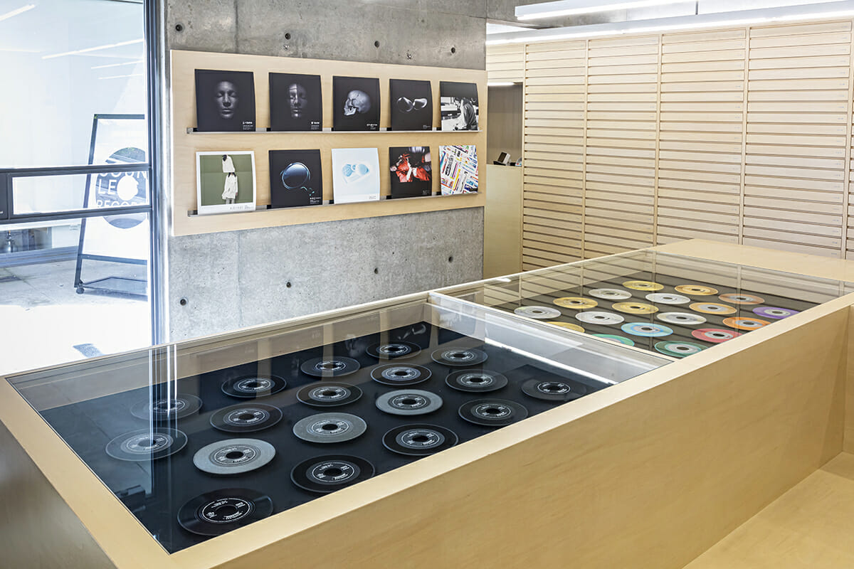 個展AOYAMA CREATORS STOCK 19「SOUNDLESS RECORDS」