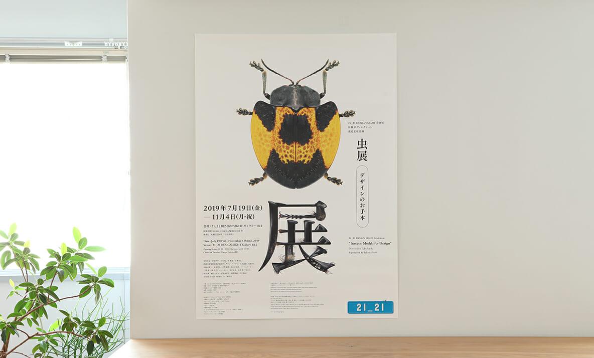 虫展-デザインのお手本- 告知グラフィック